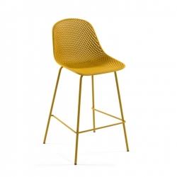 Полубарный стул Quinby желтый