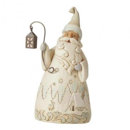 Статуэтка Белый Дед Мороз