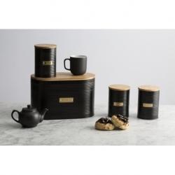 Емкость для хранения чая Otto черная 1,4