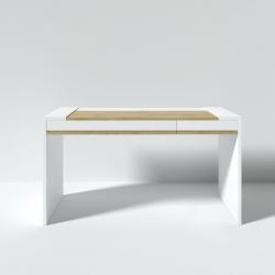 Рабочий стол Mass 140 см белый, BraginDesign