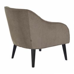 Кресло Lobby серый вельвет, La Forma (ex Julia Grup)
