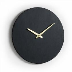 Настенные часы Walso черные, La Forma (ex Julia Grup)