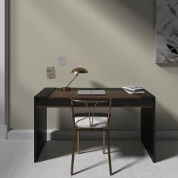 Рабочий стол Mass 160 см черный, BraginDesign