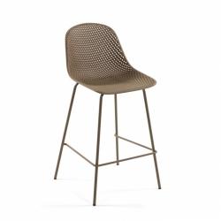 Полубарный стул Quinby бежевый, La Forma (ex Julia Grup)