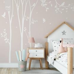 Обои для детской комнаты Цветы 3