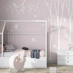 Обои для детской комнаты Цветы 3, Mondeco