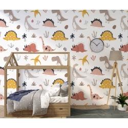 Обои для детской комнаты Динозавры 1, Mondeco