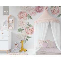 Обои для детской комнаты Цветы 6, Mondeco