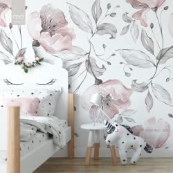 Обои для детской комнаты Цветы 7, Mondeco