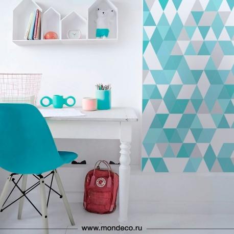 Обои для детской комнаты Геометрия 3