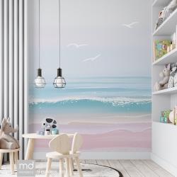 Обои для детской комнаты Море, Mondeco