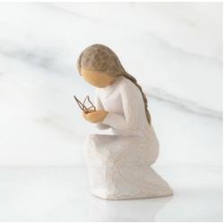 Статуэтка Willow Tree Молящаяся о мире (Prayer of Peace)