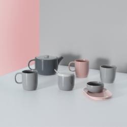 Сахарница Cafe Concept D 8,5 см серая, Typhoon