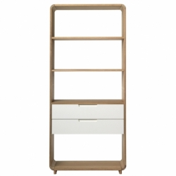 Шкаф книжный Unique Furniture Amalfi 182х30х194 см