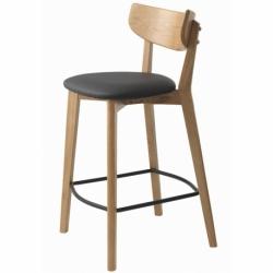 Стул барный Unique Furniture Pero, pu-кожа, черный