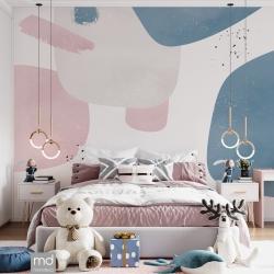 Обои для детской комнаты Абстракция 4, Mondeco