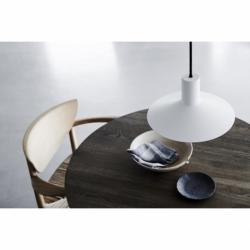 Лампа подвесная Minneapolis D27,5 см белая матовая, Frandsen