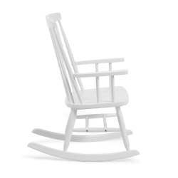 Кресло-качалка Terence белое, La Forma