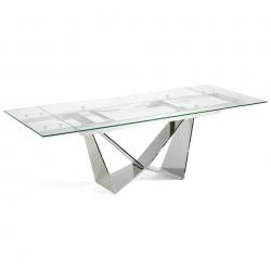 Прямоугольный стеклянный стол CT2302, Angel Cerda