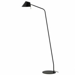 Лампа напольная Office D18 см черная матовая, Frandsen