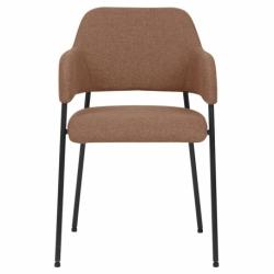 Кресло Berg Wendy 54х53х82,5 см терракота