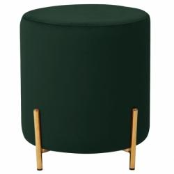 Пуф Berg Jerome D39х43 см зеленый