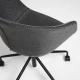 Офисное кресло Yvette темно-серое, La Forma