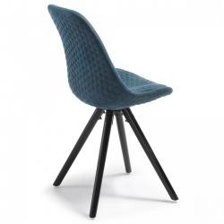 Комплект стульев Lars темно-синий цвет (4 шт)