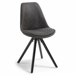 Комплект стульев Lars черный цвет (4 шт)