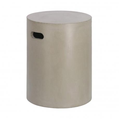 Приставной столик из цемента Jenell 35 см