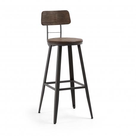 Барный стул Malinda графитовый, La Forma