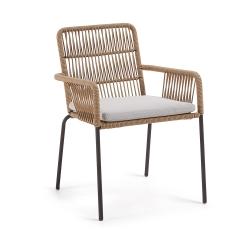 Кресло Camt бежевое, La Forma
