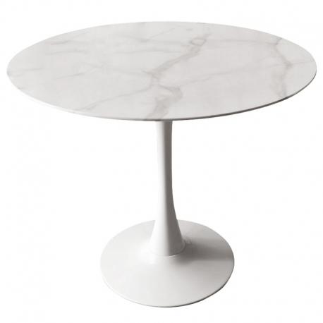 Столик Patricia 90х72 см белый