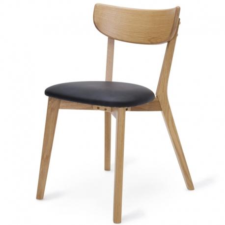 Стул Unique Furniture Pero pu-кожа черный