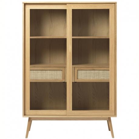 Шкаф книжный Unique Furniture Barrali 110х40х160 см