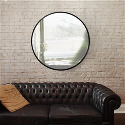 Настенное зеркало Hub Ø91, Umbra