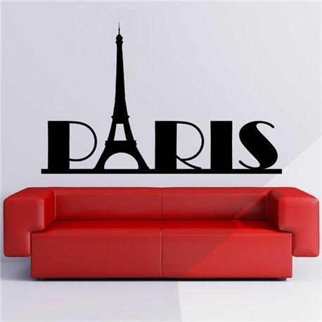 Интерьерная наклейка Paris