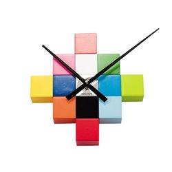Настенные часы Karlsson DIY Cubic разноцветные
