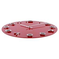 Настенные часы Karlsson Vintage Round красные