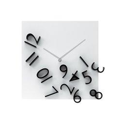 Настенные часы Karlsson Falling Numbers