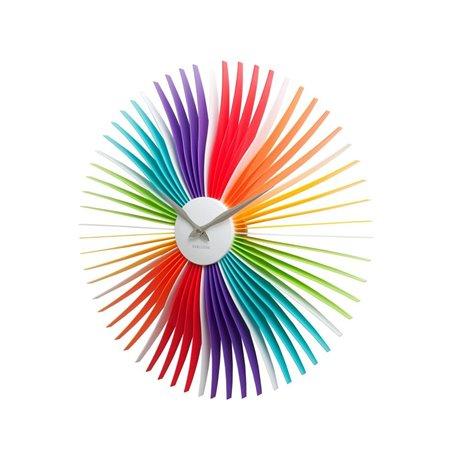 Настенные часы Karlsson Oopsy Daisy разноцветные