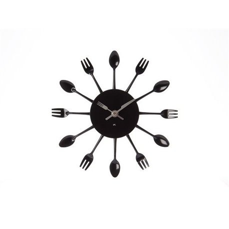 Часы для кухни Present Time Cutlery Mini