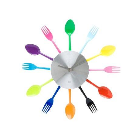 Часы для кухни Present Time Silverware Utensils