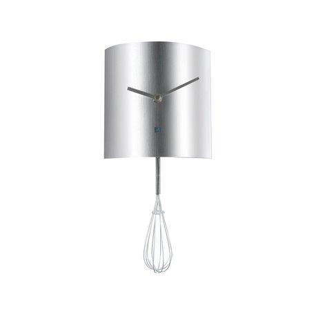 Часы для кухни Present Time Whisk Pendulum