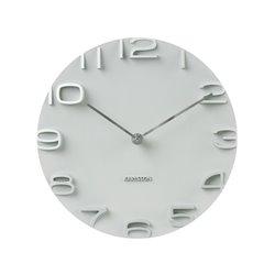 Настенные часы Karlsson On the Edge белые