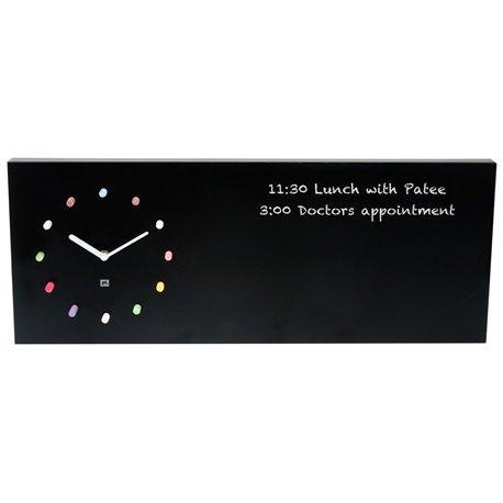 Настенные часы Present Time Chalk board