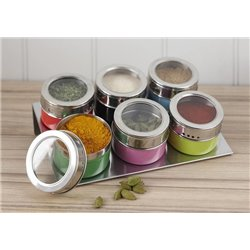 Баночки для специй Present Time Spice Cans magnetic