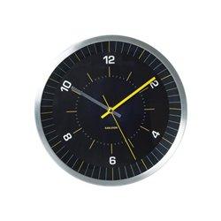 Настенные часы Karlsson Bright Line желтые