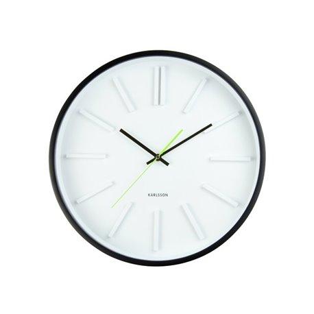 Бесшумные настенные часы Karlsson Embossed Station