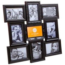 Фоторамка Frame Magic multiple x9 black, Balvi